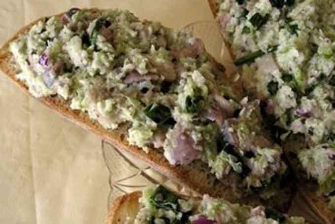 Бутерброды с селедочкой