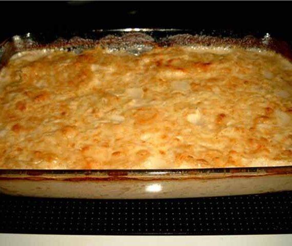 Блюда из картофеля (обед для четырех персон)