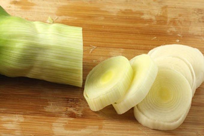 лук-порей для морепродуктов