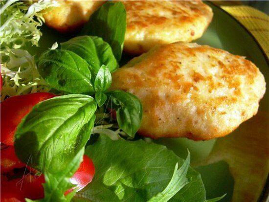 Сочные рыбные котлеты с сыром
